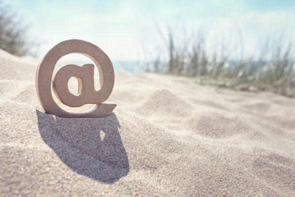 E-Mail Marketing vom Strand
